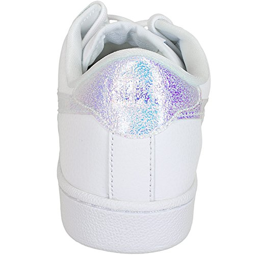 Nike Wmns Tennis Classic Prm, Sneakers basses femme Blanco (Blanco (white/white-black))