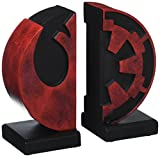 Star Wars Bookends Imperial/Rebel Logo 15 cm - Best Reviews Guide