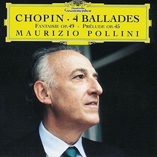 CHOPIN - 4 ballades - Fantaisie - Prélude