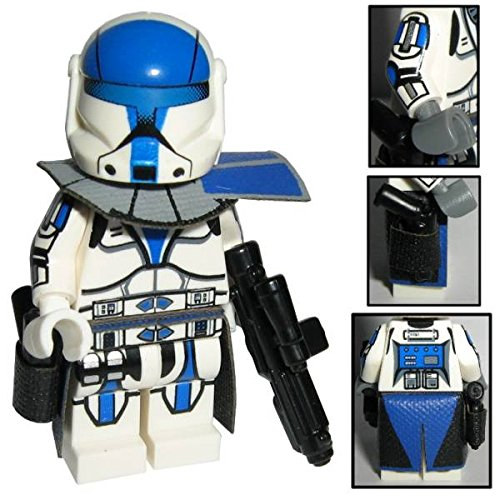 (Custom Brick Design CBD 501st Legion ARC Clone Commando Trooper Figur gefertigt aus Lego Star Wars & Custom Teilen)