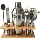 Gazechimp Kit de 8pcs Herramientas de Cocina Mezclador de Cóctel Cerveza Bebidas Sabrosas Abrebotellas Durable Almacenar