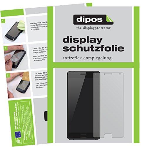 dipos I 6X Schutzfolie matt passend für ZUK Z2 Pro Folie Displayschutzfolie