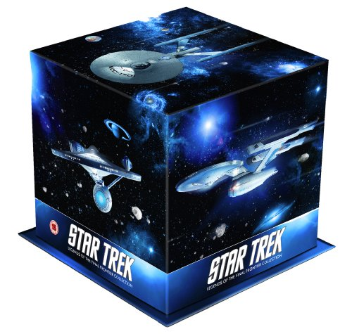 Star Trek: Films I - X Remastered Special Edition Box Set (Star Trek: The Motion Picture , Star Trek: The Wrath of Khan , Star Trek: The Search For ... The Final Frontier , Star Trek: The Undiscove [Blu-ray] [UK Import] (Star Motion Trek-the Picture)