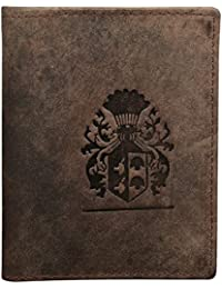 Style98 Hunter Brown Premium Quality Pure Leather Women's Wallet|| Men's Travel Wallet|| Unisex Slim Money Clip...