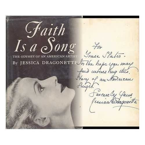 Faith is a Song; the Odyssey of an American Artist
