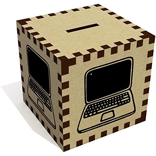 Azeeda 'Ordenador portátil' Caja Dinero / Hucha MB00065753