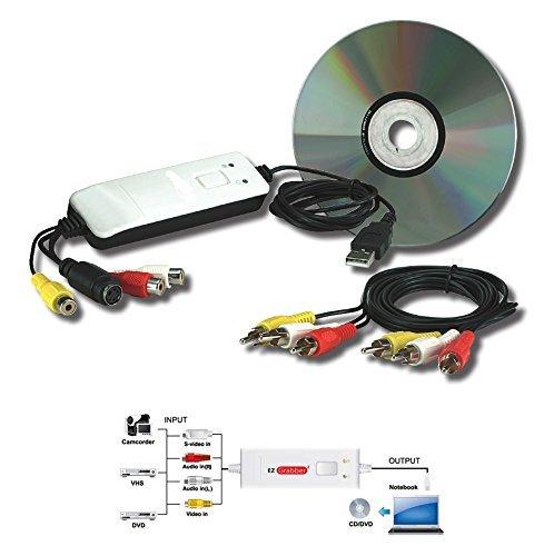 mygica ez grabber  MyGica EZ Grabber Box USB Scheda Acquisizione Video per Passare VHS ...
