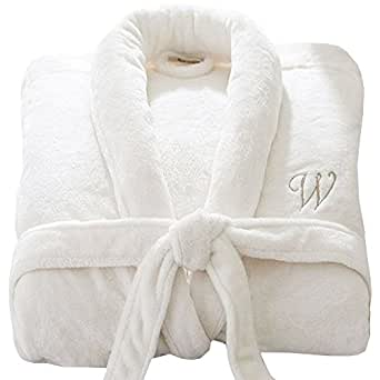 Personalised Bathrobe custom with YOUR TEXT Embroidery Bathrobes Terry Towel Bathrobe Terry Towel 100% COTTON UNISEX Stars & Stripes brand Bathrobe S/M