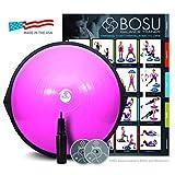 Bosu - Balance Trainer, attrezzo per Esercizi di Equilibrio, Pink