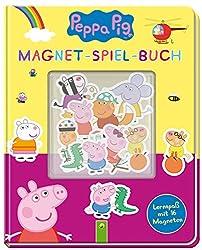 Peppa Pig Magnet-Spiel-Buch: Lernspaß mit 16 Magneten