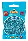 Hama Perlen 501-31 - Mini-Perlen, 2000 Stück türkis