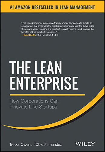The Lean Enterprise: How Corporations Can Innovate Like Startups (English Edition) (Small Corporation Business)