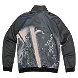 adidas ORIGINALS STAR WARS KYLO REN STORMTROOPER REY LUKE KINDER FIREBIRD JACKE, Größe:140, Farbe:Grau