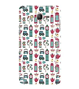 printtech Back Case Cover for Samsung Galaxy On5 Pro