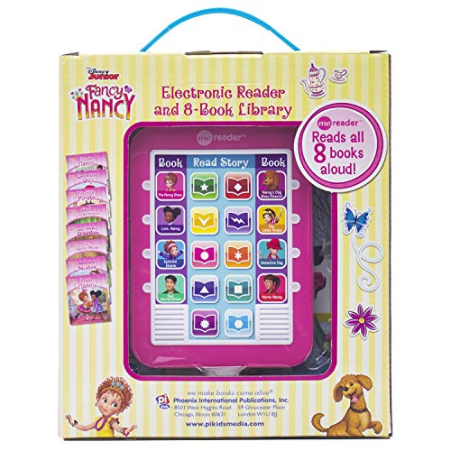 Fancy Nancy - Electronic Me Reader and 8 Sound Book Library - PI Kids