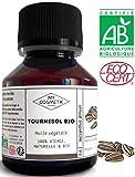 Huile végétale de Tournesol BIO - MyCosmetik - 50 ml