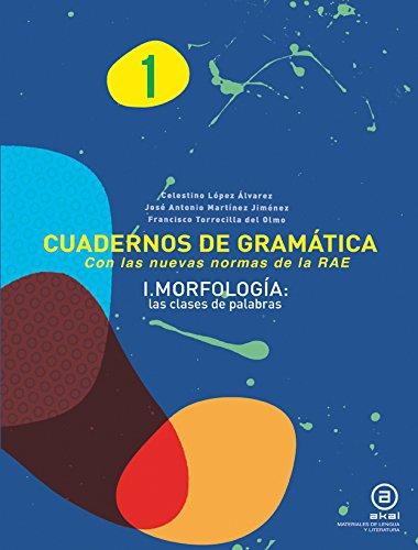 Cuadernos De Gramática. Morfología. 2º ESO - Número 1 (Materiales Lengua Y Lit.)