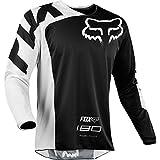 Fox Jersey 180 Race, Black, Größe L
