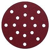 Klingspor PL 28 CK Schleifscheibe | Ø 150 mm | 17 Loch / 8+8+1-Lochung (GLS 51) | 60-teiliges Premium-Set | gemischte Körnungen