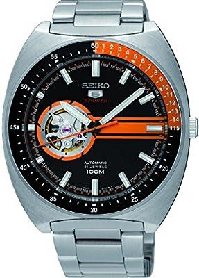 Seiko Reloj Analógico Automático para Hombre con Correa de Acero Inoxidable – SSA331K1