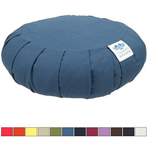 CalmingBreath Zafu Meditationskissen / Yogakissen - Einheitsgröße