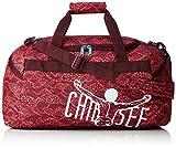 Chiemsee Unisex-Erwachsene Matchbag Medium Umhängetasche, Rot (Cangoobatik), 27 x 28 x 56 cm