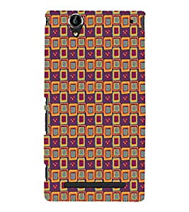 Print Masti Designer Back Case Cover for Sony Xperia T2 Ultra :: Sony Xperia T2 Ultra Dual SIM D5322 :: Sony Xperia T2 Ultra XM50h (Painting Colourful Yellow Alternative )
