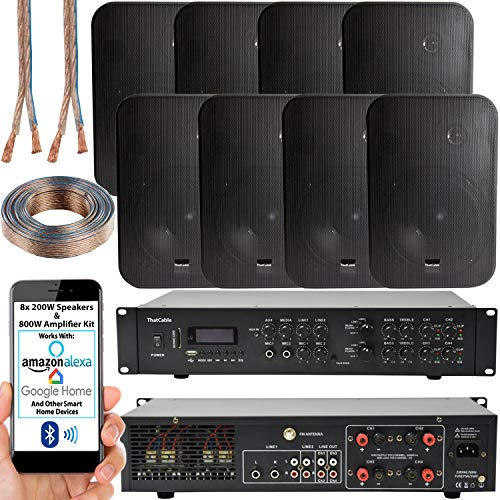 800W Multi Zone Bluetooth Sound System   4 Channel for sale  Delivered anywhere in UK