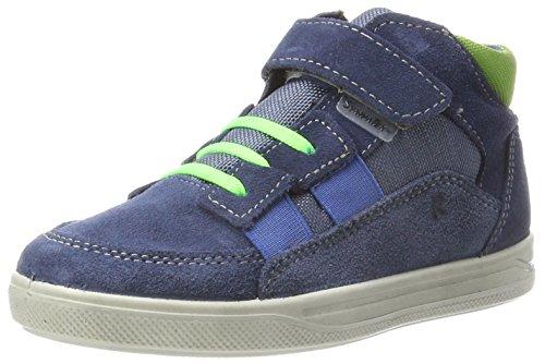 Ricosta Jungen Klax Hohe Sneaker, Reef/Nebel, 00032 EU