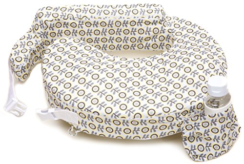 My Brest Friend Nursing Pillow, Sunshine Poppy, Grey, Yellow by My Brest Friend