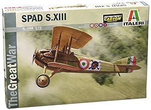 Italeri 510001366 - 1:72 SPAD S.XIII la Segunda Guerra Mundial, la aviación