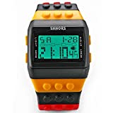 CursOnline OROLOGIO Digitale Da Polso Ufficiale Shhors Unisex e Bambino Water Resistant Bracciale Watch Multicolor