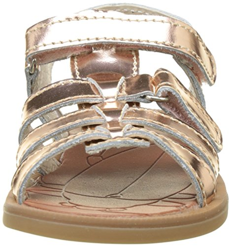 Achile Katagami, Sandales Bout Ouvert Fille Rose (Vte Rose Metal Dpf/2794)