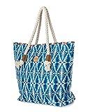 RIP CURL Damen Bazaar Beach Bag Tasche, Blue, 56 x 16 x 40 cm