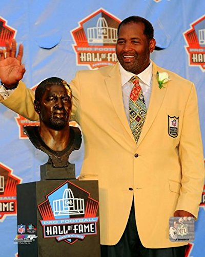 The Poster Corp Richard Dent 2011 NFL Hall of Fame Induction Ceremony Photo Print (50,80 x 60,96 cm) -
