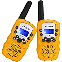 Retevis RT388 - Walkie talkie con 8 canales VOX, color amarrillo