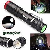 lifetrend LED Taschenlampe Pocket 3500Lumen CREE XML XPE LED Taschenlampe Taschenlampe Lampe Licht Outdoor Light (3Licht-Modus Optionen)