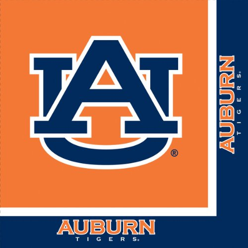 Creative Converting Auburn Tigers Luncheon Napkins (20 Count)