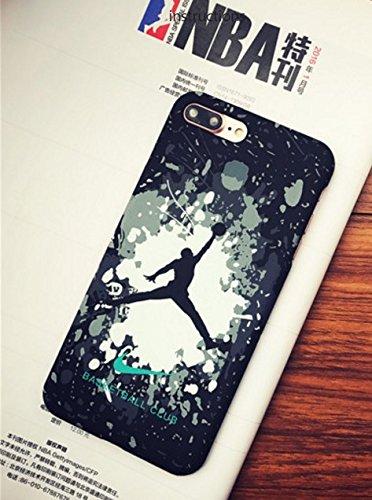 RONNEY'S Air Jordan Luminous PC BLACK Hard Case for Apple Iphone 6/6S DESIGN 3 Design 16