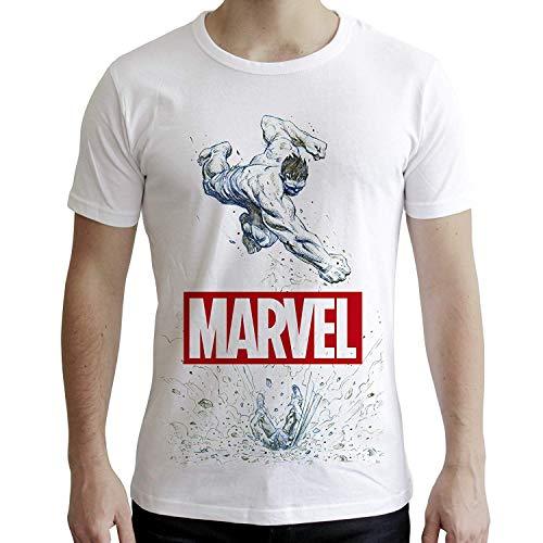 tex414-xl Marvel Hulk Short Sleeve Herren Neue Fit T-Shirt (X-Large) ()