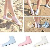 d6d6d7adaa68c Leyeet Non-slip Confortable Chaussures De Plage En Silicone De Natation Pour  Les Femmes Hommes