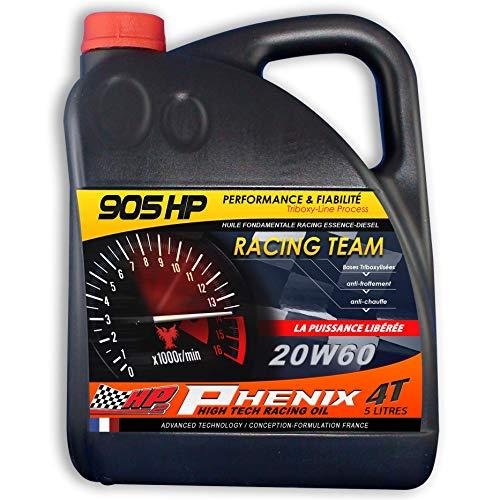 905HP Phénix Racing Team 20W60 - Accelera le tue prestazioni. Maggiore affidabilità
