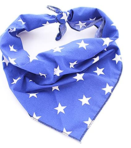 Pet Pooch Boutique Star Bandana for Dog, X-Small/Small,