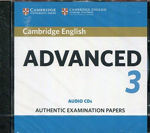 Cambridge English Advanced 3 Audio CDs (CAE Practice Tests)