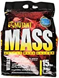 Mutant MASS Gainer, Ultimate Size and Strength Gainer For Putting On Those Wanted Pounds, Cookies & Cream, 15 Pound by Mutant
