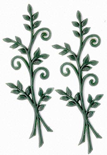 Glorex Wachsdekor, Andere, grün, 15 x 5,5 x 0,2 cm