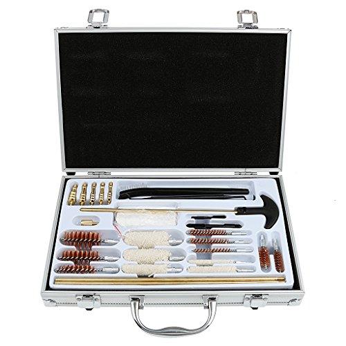 28pcs Kit Brosse de Nettoyage Universel pour Pistolet Fusil de Chasse Outil de Maintenance