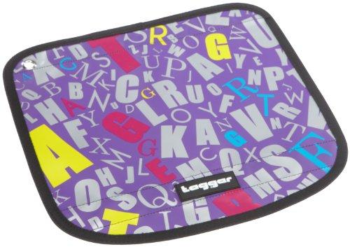 Tagger Messenger Flap Flow - Alphabet Soup PURP 5101-909281-PURP, Sac mixte adulte - Violet-TR-L-1-8