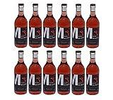 12x 500 ml Retsina Malamatina Rosé geharzter Rosewein aus Griechenland Spar Set 12 Flaschen Rose Wein + 2 Probiersachets a 10 ml Olivenöl von Kreta gratis