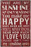 Premier Housewares You are My Sunshine Wall Plaque
